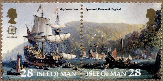 Остров Мэн марка Mayflower
