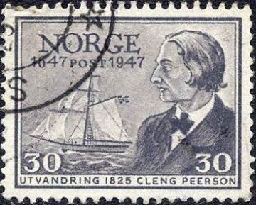 Кленг Пеерсон на марке