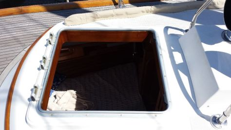 No holes allowed in boats