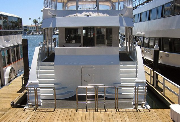 Rent A Ditmar Donaldson Custom 100 Motorboat In Marina