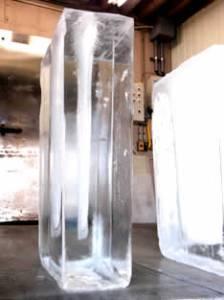 氷 透明度高い