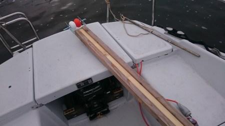 Le nouveau support de mât