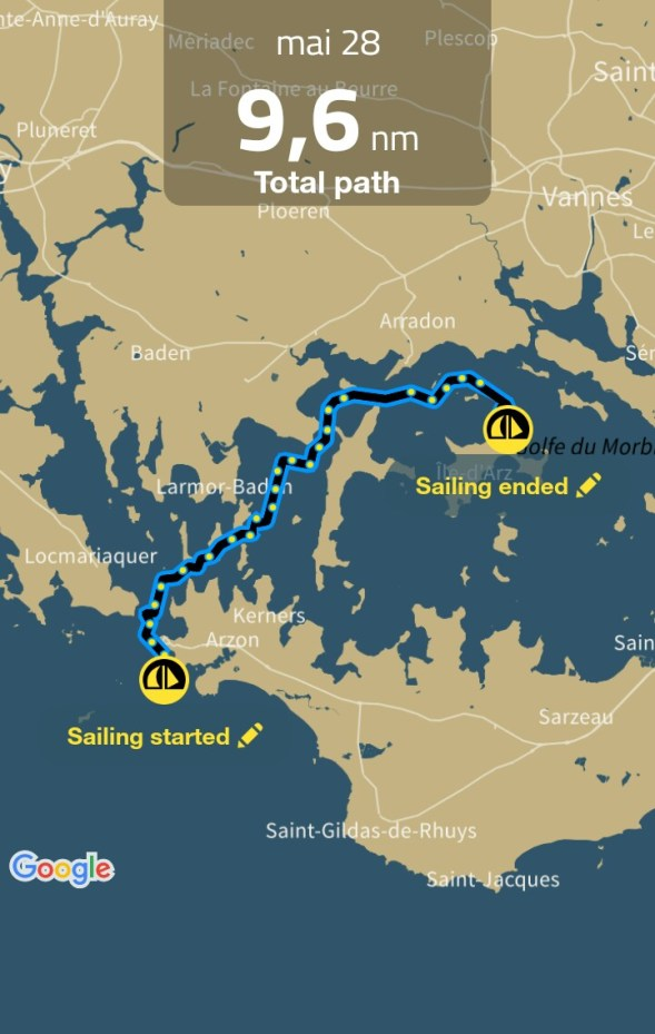 Sailing Log - mai 28 - 3