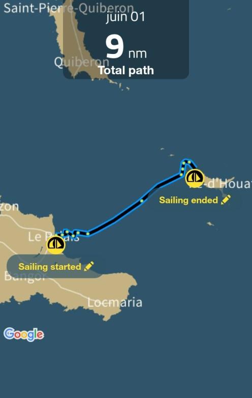 Sailing Log - juin 01 - part 1
