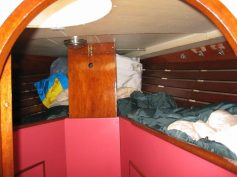 Front cabin before