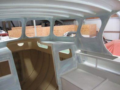 Cockpit during