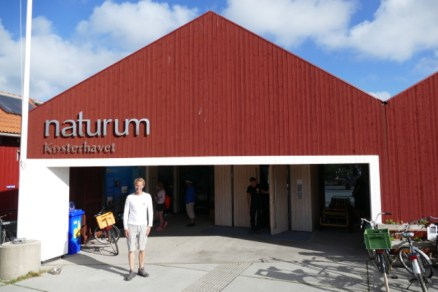 Floris at the Kosterhavet Naturum visitor center