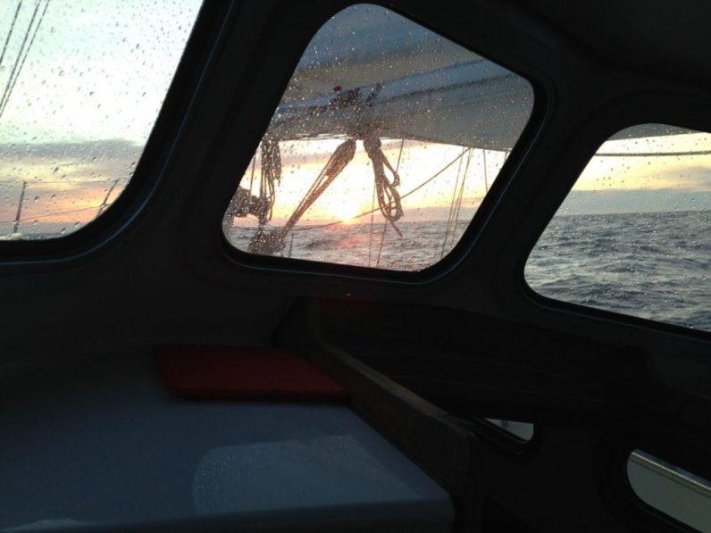 Sunrise in the Skagerrak