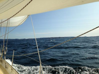 Great to see the Norwegian coast after 3 days at sea.