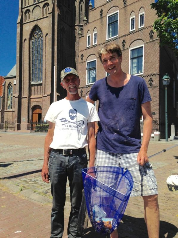 Ivar with Henk