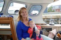 Marijtje with Enna