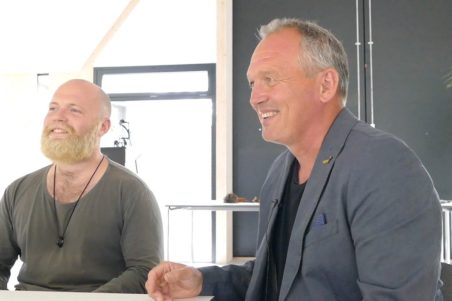 Mads and Søren Hermansen of the Energy Academy