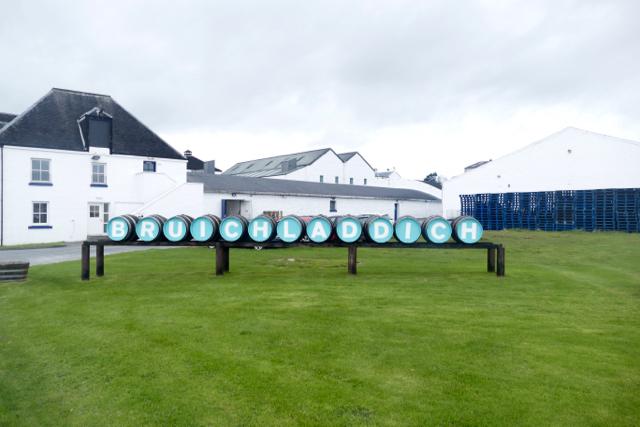 Bruichladdich whisky distillery