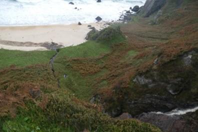 Islay beach and cliffs