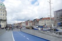 Copenhagen's new pedestrian/cyclist bridge near Nyhavn