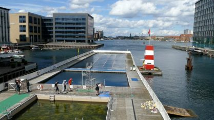 Swimming Pool in Copenhagen's Harbour
