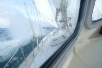 Tacking into the Irish Sea