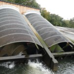"Totnes ""Archimedes screw"" hydropower"