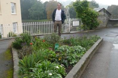 Totnes edible public garden