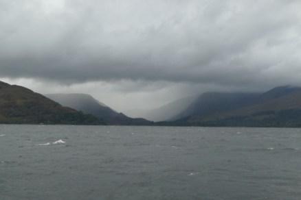 Rainstorms in West Scotland