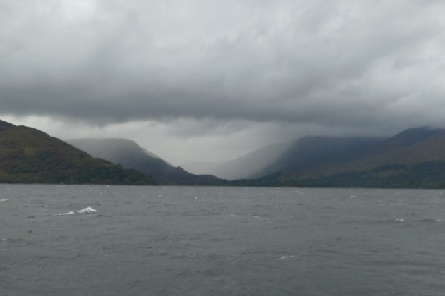 Rainstorms in West Scotland