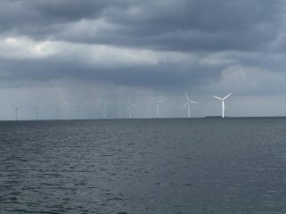 Wind Turbines in Copenhagen's Harbour