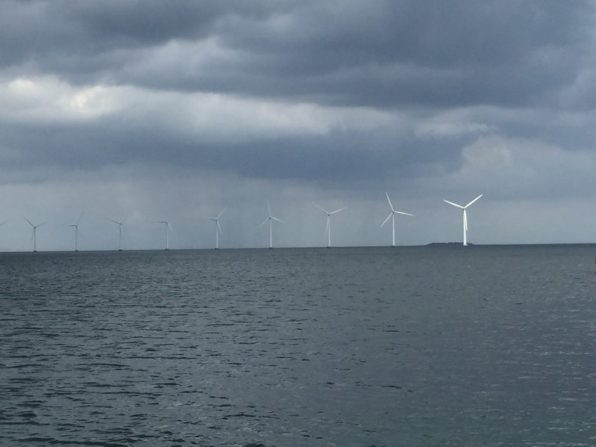 Wind Turbines in Copenhagen's Harbour