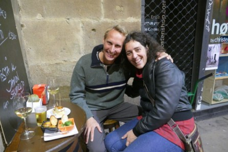 Pintxos with Ana