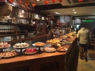 San Sebastian's amazing food