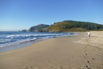 Atlantic beach at Finisterre
