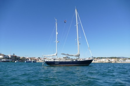Luci on the anchorage at Cascais