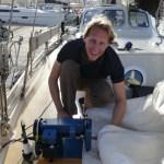 Time for sail-repairs