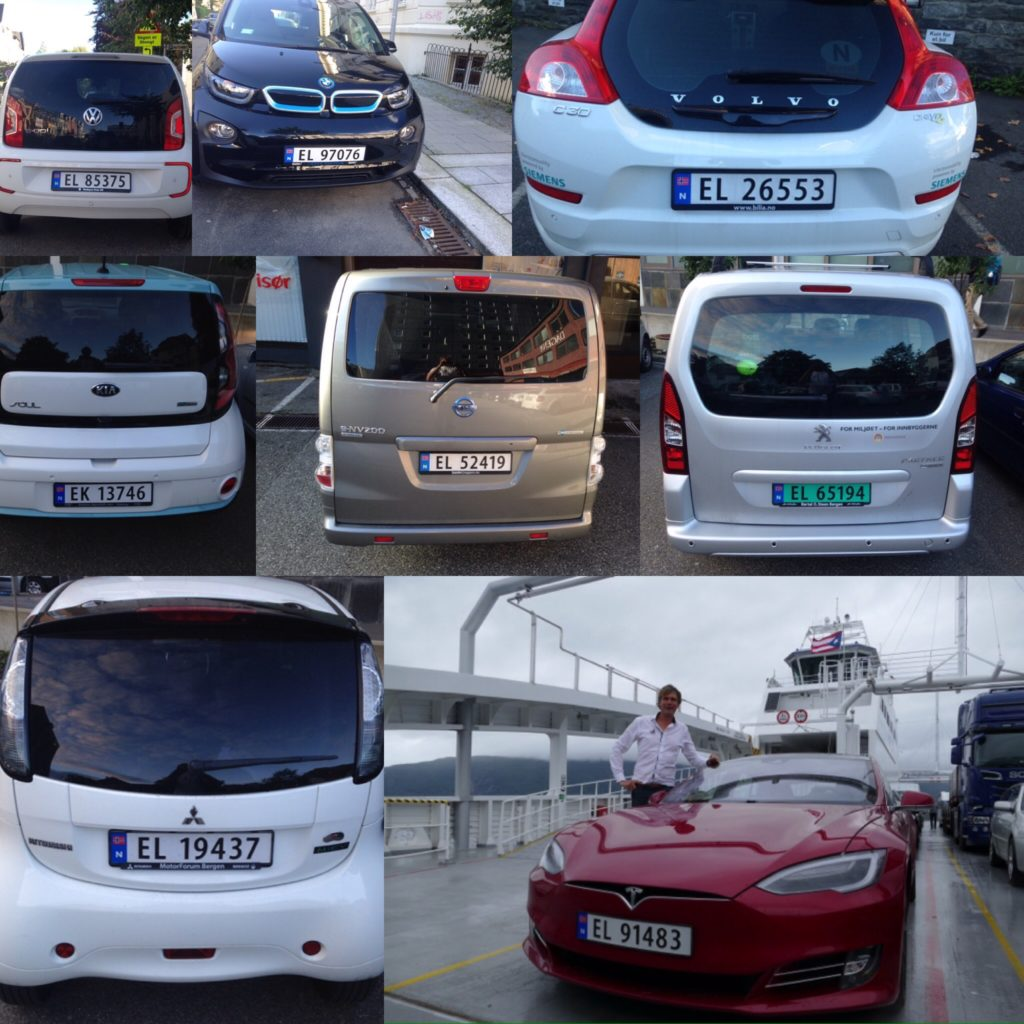 Most car brands have electric models in the Norwegian market