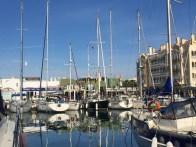 Almerimar marina; our berth next to the tapas bar