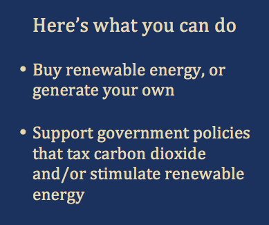 What you can do - Marine Energy