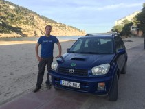 Greenheart beachcar at Cala Llonga
