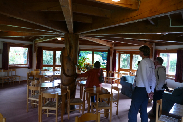 The Findhorn dining room