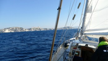 Sailing to France