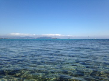That's why they call it the Cote d'Azur