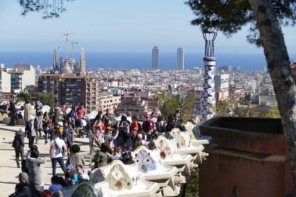 Touristy Barcelona