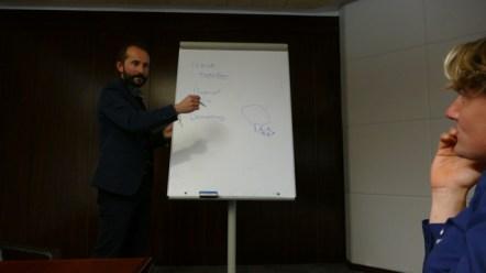 Ander explains Mondragon