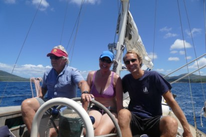 Sailing with Cully and Bernice