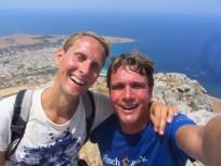 Hiking reward at San Vito lo Capo