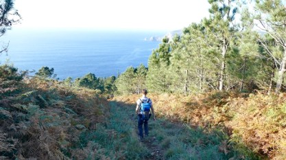 Hiking to Finisterre
