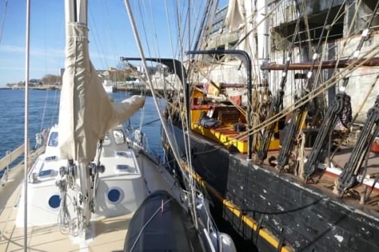 Lucipara2 moored next to Tres Hombres
