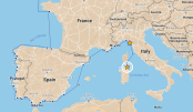 Our route from Le Grazie to Porto Liscia