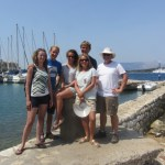 Old & new friends at Kerkyra harbour