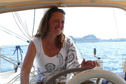 Saskia sailing