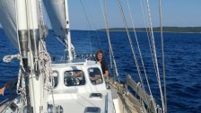 Blue water cruising