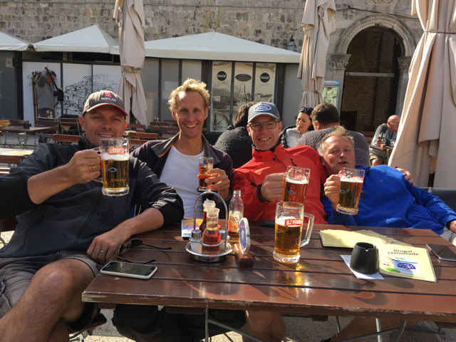 Cheers in Dubrovnik